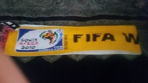 Fifa 2010 Adidas original licensed World Cup Soccer Scarf w Tags