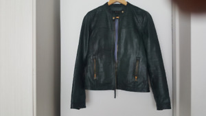 Real Leather Jacket - Massimo Dutti - Veston en cuir veritable