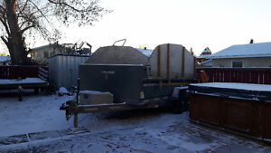 dump trailer rental and renovations and storage and snow blowing