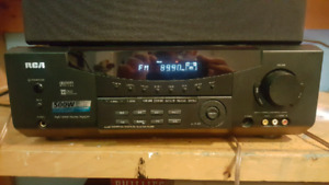 500 watt RCA home theater receiver