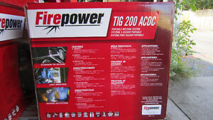 Tig Welder Firepower 200 High Freq Ac/Dc Tig/ Stick New