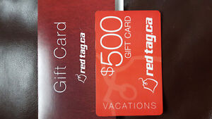 Red Tag Gift Card