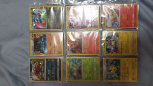 Selling Pokemon Holo and reverse holo rares