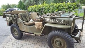 Willy Jeep, US Military