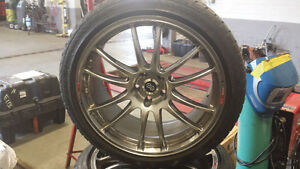 """20""""  Nissan GT-R  ,370 Z Winter Rims and Tires"""