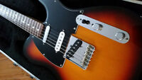 Fender Telecaster Nashville Deluxe (with HSC)