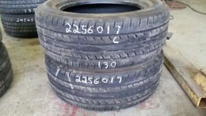 Pair of 2 Evergreen EH23 225/60R17 tires (60% tread life)