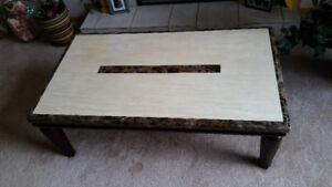 Marble Top Coffee Table-Great Price