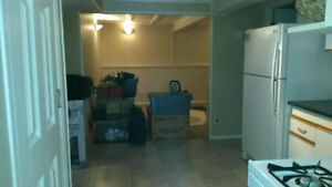 1 Bedroom Basement Suit