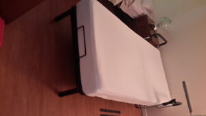 Fully equipped electric bed and frame