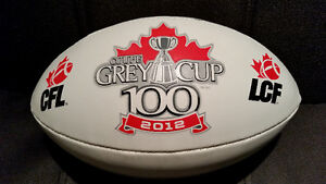 CFL Canadian Football League  100th Grey Cup Full size football