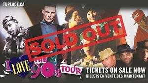 I Love The 90's Tour - 4 tickets