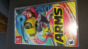 Nintendo switch ARMS factory sealed