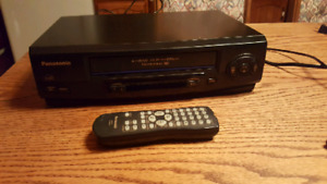 Panasonic VHS Player and VHS Movies
