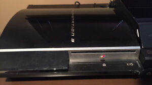 Sony PS3 original console + 3 controllers + 4 games