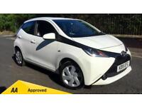 2015 Toyota Aygo 1.0 VVT-i X-Play x-shift Automatic Petrol Hatchback