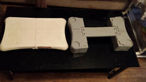 Wii fit board and stand