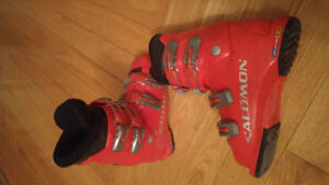 Bottes salomon junior 21.0 ou 2