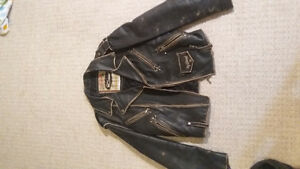 Diesel leather jacket Strathcona County Edmonton Area image 1