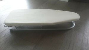 Small counter top ironing board