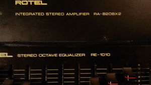 Rotel Intergrated Amp and Equalizer
