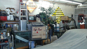 LOTS OF SIGNS AND OTHER MAN CAVE DECOR( tractor grills etc) Belleville Belleville Area image 4