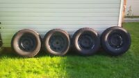 """17"""" Dodge Ram 1500 winter wheel and tire package"""