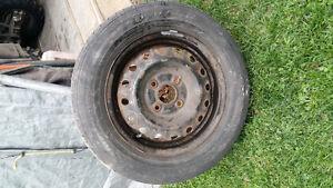4 pneus été sur jantes