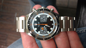 FS NEW Tudor heritage chrono black dial