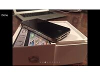 Apple iPhone 4S on EE Virgin T Mobile - 16Gg Black Excellent Condition