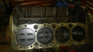 moteur complet chevy small block 327 1969