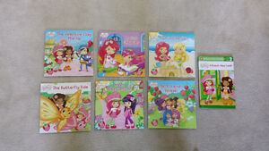 Strawberry Shortcake Books $2.00 each or $12.00 for the set