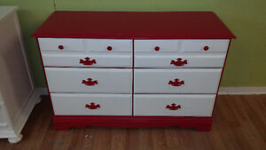 Just painted last week. Full matching 4 pc dresser set yours for