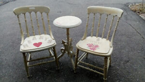 MOVING SALE: RUSTIC SET