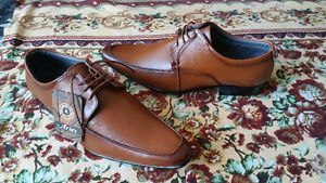 BRAND NEW - Brown Formal/Dress shoes with tag!