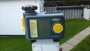 Electronic water timer YARDWORKS and MELNOR