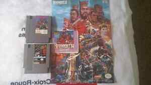 NES Games and various Manuals