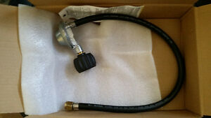 BBQ Grill Liquid Propane Hose and Tank Regulator