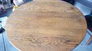 Rustic dining room table Kitchener / Waterloo Kitchener Area image 1