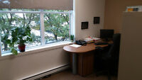 Bureau dans un centre d'affaires