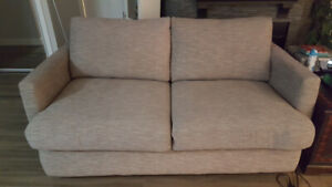 Light gray sofa bed for sale - excellent condition