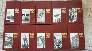 World War II with Walter Cronkite set of ten VHS tapes: