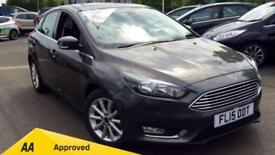 2015 Ford Focus 1.6 TDCi 115 Titanium 5dr Manual Diesel Hatchback