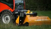 Lawn mowing weed control