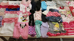 Baby girl 3-6 months clothing bundle#1