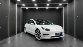 2019 Tesla Model 3 Performance, Black interior, Track Mode Auto Saloon Electric