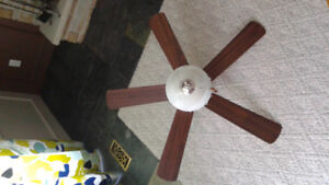 42 inch CEILING FAN WITH LIGHT