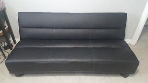 Black Sofabed / Futon. Save 50%