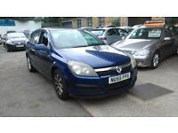 Vauxhall Astra 1.6i 16v Club 5 DOOR - 2005 55-REG - 4 MONTHS MOT