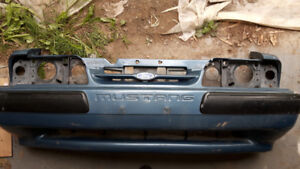 Bumper Cover w/ Headlight Panel for 87-93 Foxbody Mustang